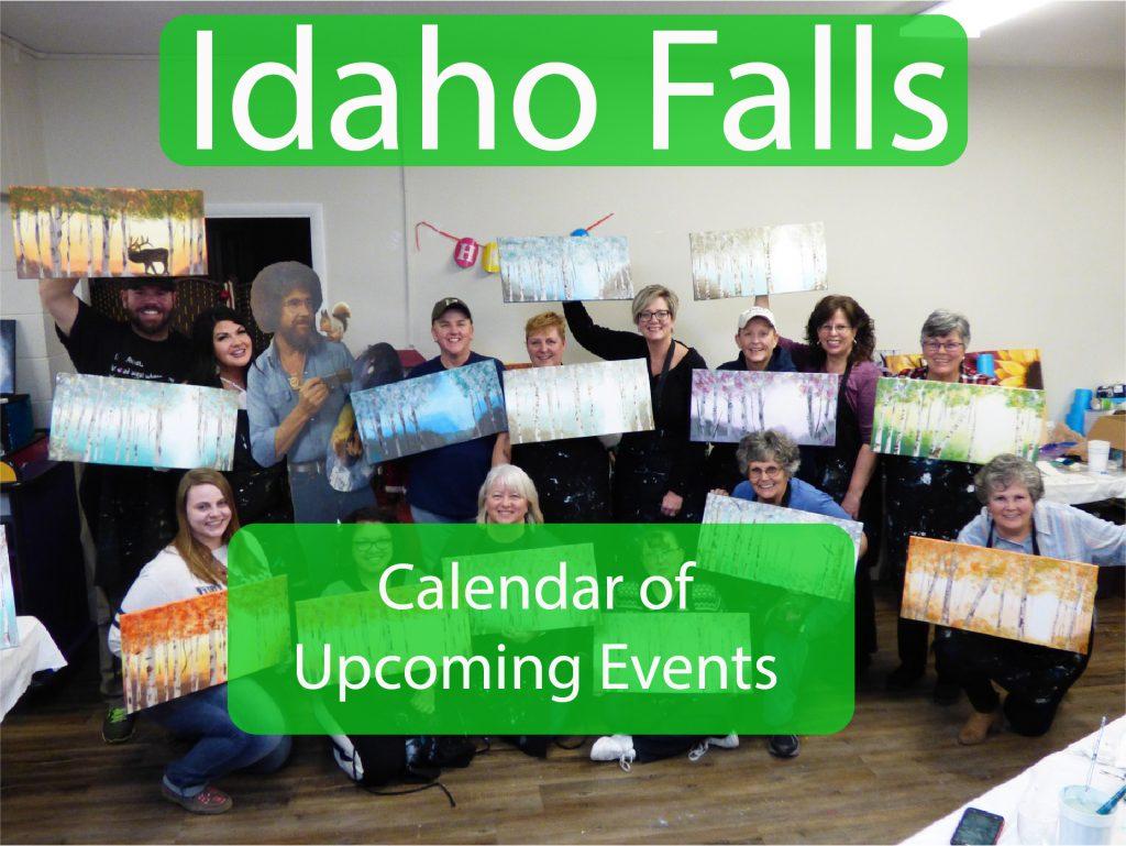 Idaho Falls Events Button