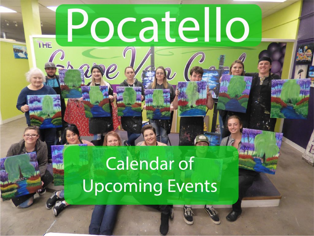 Pocatello Events Button