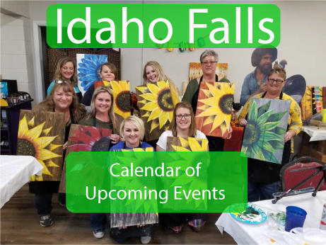 Calendar Button Idaho Falls